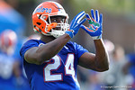 Florida Gators running back Mark THompson as the University of Florida Gators football team continues the first week of 2016 spring practices.  March 11th, 2016. Gator Country photo by David Bowie.