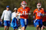 Florida Gators freshman quarterback Kyle Trask as the University of Florida Gators football team continues the first week of 2016 spring practices.  March 11th, 2016. Gator Country photo by David Bowie.