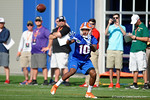 Florida Gators freshman wide receiver Josh Hammond as the University of Florida Gators football team continues the first week of 2016 spring practices.  March 11th, 2016. Gator Country photo by David Bowie.