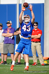 Florida Gators wide receiver Glenn Jarriel with a catch as the University of Florida Gators football team continues the first week of 2016 spring practices.  March 11th, 2016. Gator Country photo by David Bowie.