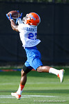 Florida Gators freshman defensive back Chauncey Gardner running drills as the University of Florida Gators football team continues the first week of 2016 spring practices.  March 11th, 2016. Gator Country photo by David Bowie.