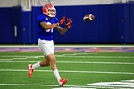 Florida Gators defensive back Jalen Tabor and the Florida Gators football team took to the indoor practice facility on Wednesday for another spring practice as the Gators prepare for their annual Orange and Blue Game.  March 30th, 2016.  Gator Country photo by David Bowie.