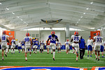 Florida Gators defensive back Marcell Harris and the Florida Gators football team took to the indoor practice facility on Wednesday for another spring practice as the Gators prepare for their annual Orange and Blue Game.  March 30th, 2016.  Gator Country photo by David Bowie.