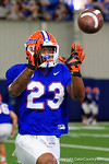Florida Gators defensive back Chauncey Gardner and the Florida Gators football team took to the indoor practice facility on Wednesday for another spring practice as the Gators prepare for their annual Orange and Blue Game.  March 30th, 2016.  Gator Country photo by David Bowie.