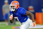 Florida Gators defensive back Duke Dawson and the Florida Gators football team took to the indoor practice facility on Wednesday for another spring practice as the Gators prepare for their annual Orange and Blue Game.  March 30th, 2016.  Gator Country photo by David Bowie.
