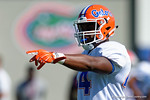 Florida Gators linebacker Rayshad Jackson as the University of Florida Gators run drills and scrimmage during the third week of spring practice.  March 23rd, 2016.  Gator Country photo by David Bowie.