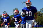 Florida Gators tight end DeAndre Goolsby as the University of Florida Gators run drills and scrimmage during the third week of spring practice.  March 23rd, 2016.  Gator Country photo by David Bowie.