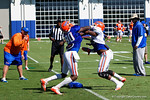 Florida Gators tight end C'yontai Lewis as the University of Florida Gators run drills and scrimmage during the third week of spring practice.  March 23rd, 2016.  Gator Country photo by David Bowie.