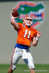 Florida Gators quarterback Kyle Trask as the University of Florida Gators run drills and scrimmage during the third week of spring practice.  March 23rd, 2016.  Gator Country photo by David Bowie.