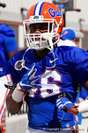 Florida Gators wide receiver Isaac O'Neal as the University of Florida Gators run drills and scrimmage during the third week of spring practice.  March 23rd, 2016.  Gator Country photo by David Bowie.