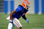 Florida Gators wide receiver Dre Massey as the University of Florida Gators run drills and scrimmage during the third week of spring practice.  March 23rd, 2016.  Gator Country photo by David Bowie.