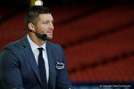 Tim Tebow on SEC Nation during media day for the 2016 SEC Championship at the Georgia Dome in Atlanta, Georgia.  December 2nd, 2016.  Gator Country photo by David Bowie.