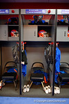 Inside the Florida Gators locker room during media day for the 2016 SEC Championship at the Georgia Dome in Atlanta, Georgia.  December 2nd, 2016.  Gator Country photo by David Bowie.