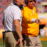 Iowa Hawkeyes head coach Kirk Ferentz during the first half as the Florida Gators defeat the University of Iowa Hawkeyes 30-3 in the 2017 Outback Bowl in Tampa, Florida.  January 2nd, 2017.  Country photo by David Bowie.