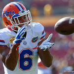 Florida Gators defensive back Quincy Wilson during pre-game as the Florida Gators defeat the University of Iowa Hawkeyes 30-3 in the 2017 Outback Bowl in Tampa, Florida.  January 2nd, 2017.  Country photo by David Bowie.