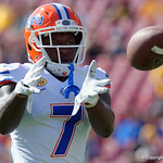 Florida Gators defensive back Duke Dawson during pre-game as the Florida Gators defeat the University of Iowa Hawkeyes 30-3 in the 2017 Outback Bowl in Tampa, Florida.  January 2nd, 2017.  Country photo by David Bowie.