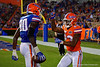 Florida Gators Orange and Blue Debut Swamp Night University of Florida 2016