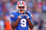 Florida Gators wide receiver Dre Massey as the University of Florida Gators fotball team scrimmages for the final time this spring in the annual Orange and Blue Debut at Ben Hill Griffin Stadium.  April 8th, 2016.  Gator Country Photo by David Bowie.