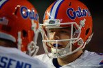 The University of Florida Gators fotball team scrimmages for the final time this spring in the annual Orange and Blue Debut at Ben Hill Griffin Stadium.  April 8th, 2016.  Gator Country Photo by David Bowie.