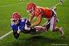 Florida Gators Orange and Blue Debut Swamp Night University of Florida 2016