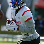 Florida Gators recruit wide receiver Daquon Green practices and run drills during the third day of practice for the 2016 Under Armour All-America High School Football Game at the ESPN Wide World of Sports in Orlando, Florida  December 38th, 2016. Gator Country photo by David Bowie.