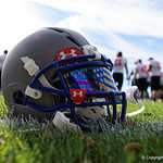 An Under Armour All America Team Highlight helmet at the third day of practice for the 2016 Under Armour All-America High School Football Game at the ESPN Wide World of Sports in Orlando, Florida  December 38th, 2016. Gator Country photo by David Bowie.