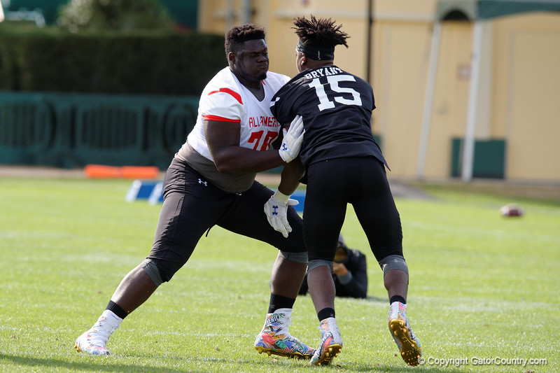 Florida Gators Recruiting 2016 Under Armour All America Practice Day 1