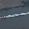 Tow and barges on the Mississippi
