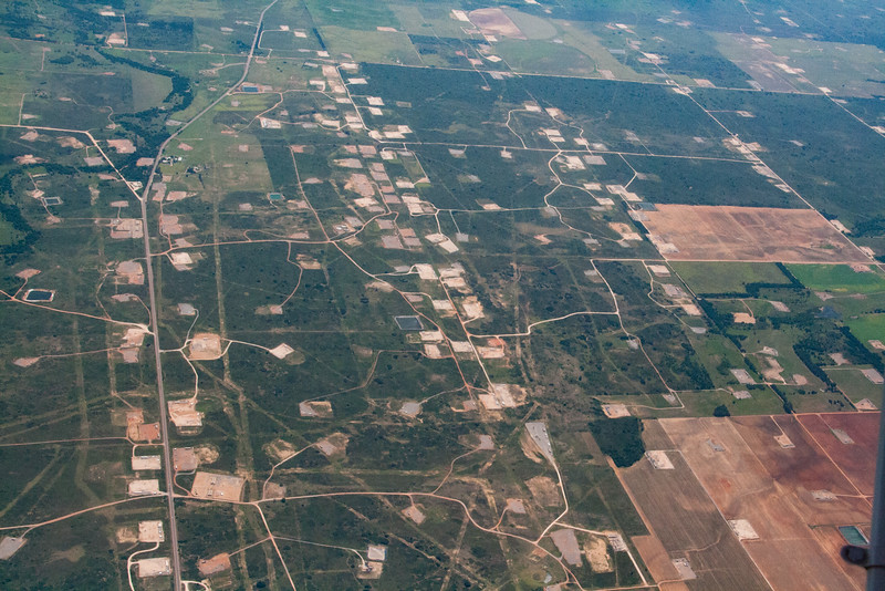 Oil Well sites in the texas panhandle