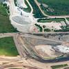 Open Pit Gypsum Mine