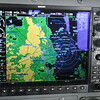Headed South, busy radar passing Kansas City