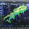 Typical weather radar this month.  A line of storms right in the way