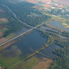 Iowa River flooding at Marengo