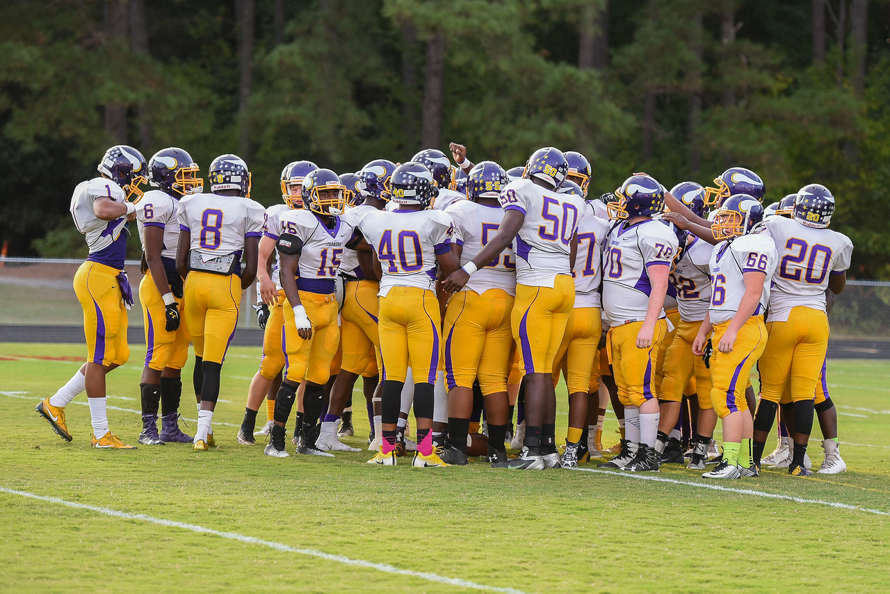 Tarboro gets ready for tonights game.Southern Nash defeats Tarboro 21-10 Friday evening September 16, 2016 in Bailey, NC (Photos by Anthony Barham / WRAL contributor.)