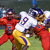 Tarboro Malik Dickens (9) Southern Nash defeats Tarboro 21-10 Friday evening September 16, 2016 in Bailey, NC (Photos by Anthony Barham / WRAL contributor.)