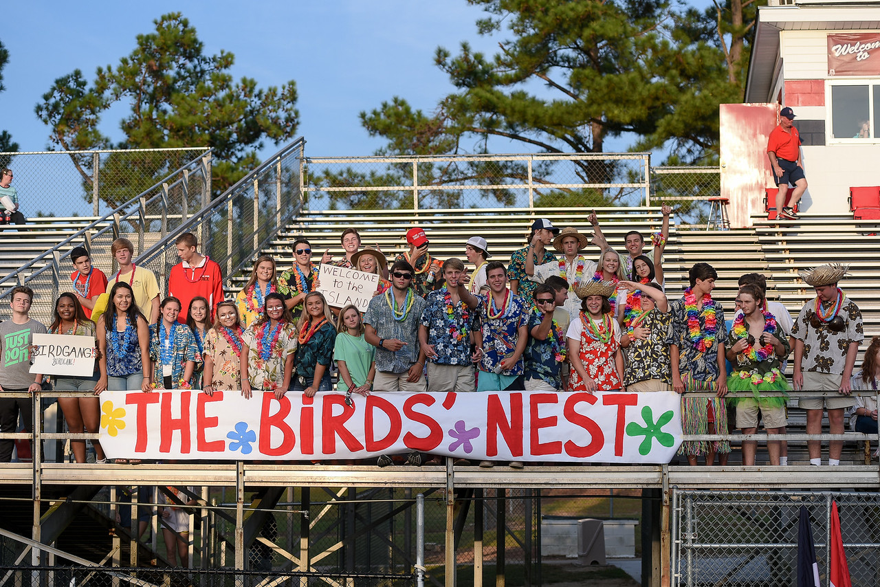 Southern Nash students before tonights game. Southern Nash defeats Tarboro 21-10 Friday evening September 16, 2016 in Bailey, NC (Photos by Anthony Barham / WRAL contributor.)