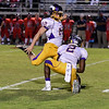Southern Nash Tremane Williams (12)Southern Nash defeats Tarboro 21-10 Friday evening September 16, 2016 in Bailey, NC (Photos by Anthony Barham / WRAL contributor.)