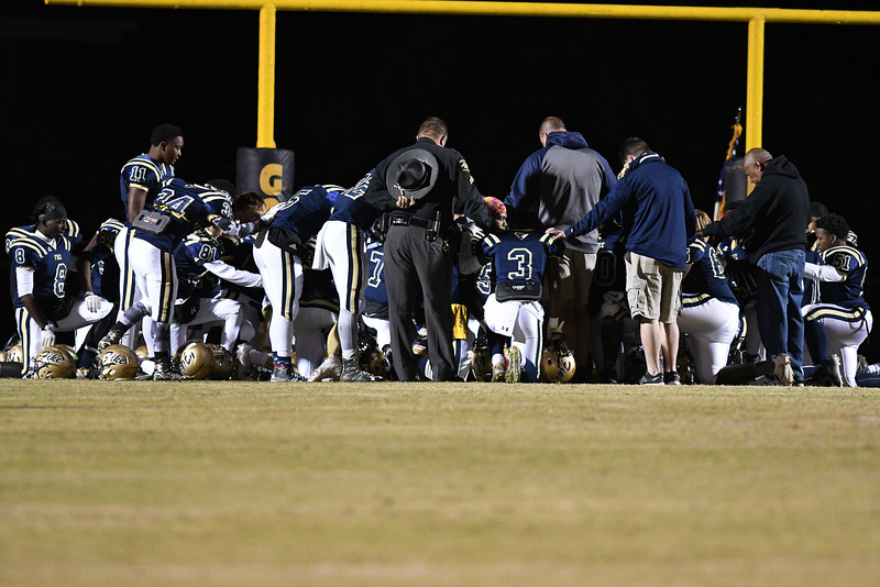 Fike before tonights game.Nash Central defeats Fike 48-20 Thursday evening November 10, 2016 in Wilson, NC (Photos by Anthony Barham / WRAL contributor.)
