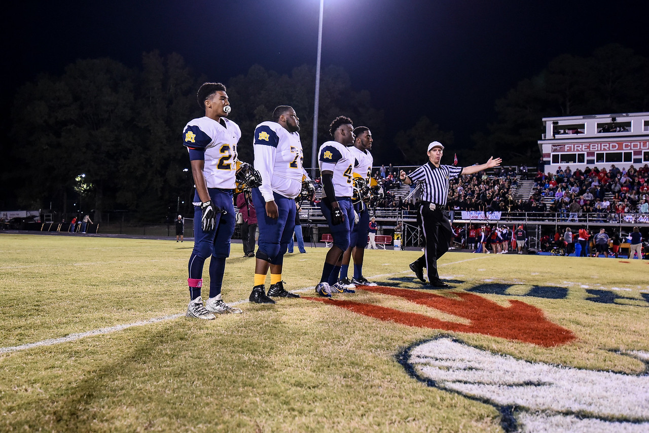 Rocky Mount captains.Southern Nash defeats Rocky Mount 21-10 Friday evening October 28, 2016 in Spring Hope, NC (Photos by Anthony Barham / WRAL contributor.)