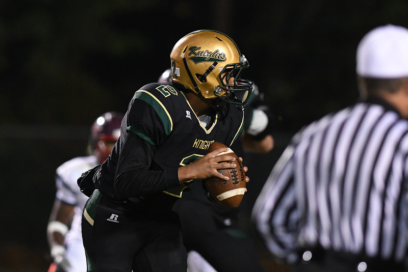 Northern Nash Davontae Wiggins (2) during tonights game.Southern Nash defeats Northern Nash 28-11 Thursday evening November 10, 2016 in Rocky Mount, NC (Photos by Anthony Barham / WRAL contributor.)