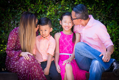 Family Photos (Cerritos Sculpture Garden):  August 21, 2016