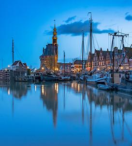 Blue Hour Holland
