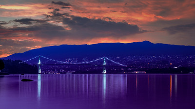 21.51 - Lions Gate Bridge - Artistic Rendering