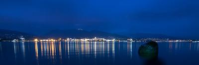 21:53 - Lions Gate Bridge - Blue Hour