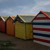 Brighton Bathing Boxes - rear view