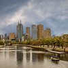 Melbourne CBD from Swan St. Bridge