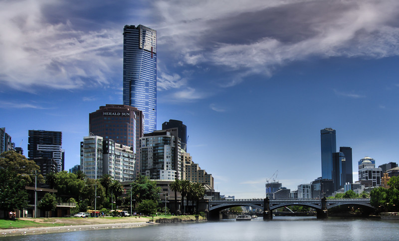 Southbank from the Yarra