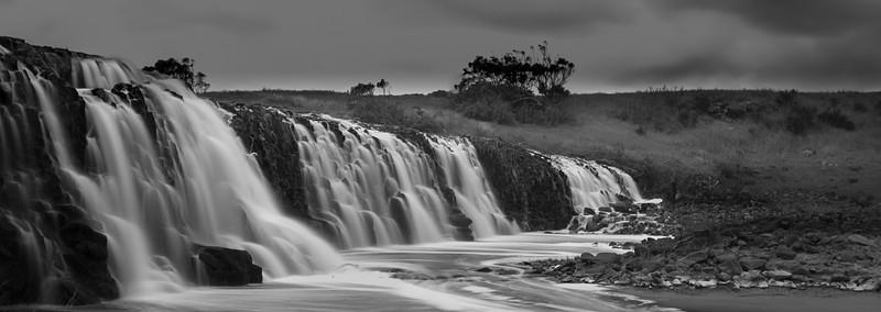 Hopkins Falls (B&W)