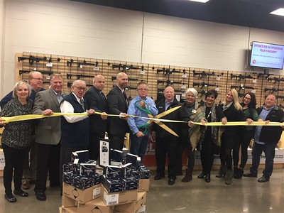 Point Blank Range & Gunshop Ribbon Cutting