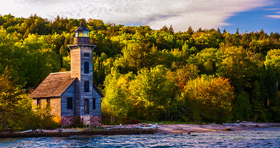 U P Lighthouse,MI